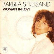 "45 TOURS / 7"" SINGLE--BARBRA STREISAND--WOMAN IN LOVE--1980"