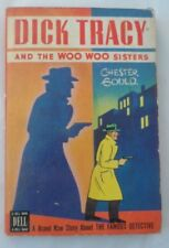 Dick Tracy and the Woo Woo Sisters 1947 Dell Paperback VG Great Color