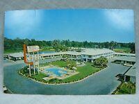 Savannah Georgia Manger Towne & Country Motor Lodge Miniature resort pool fish