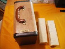 Vintage Barrett Jaffe Slide Carrying Case w/over 250 slides, 1964-1967