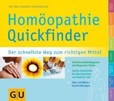 Quickfinder Homöopathie von Markus Wiesenauer (2005, Taschenbuch)
