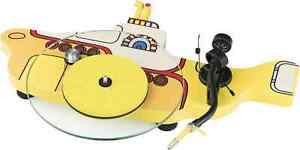 Project The Beatles Yellow Submarine Design Plattenspieler mit Ortofon Concorde