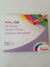 Pentel Arts Oil Pastels - 36-Color Set - 36-Color Set