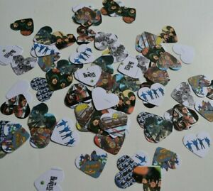 The BEATLES  Album Covers TABLE CONFETTI for Weddings or Parties FABULOUS Retro