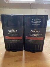 2 CREMO Anti-Perspirant Deodorant Men No.13 Reserve Blend Spiced 2.6...D53