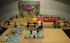(go) Legoland 6399 Airport Shuttle monorraíl con embalaje original & ba 100% completamente rar Top