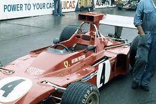 ARTURO MERZARIO FERRARI 312 B3 MONACO GRAND PRIX 1973 F1 PHOTOGRAPH FOTO