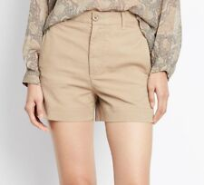 NWT $195 Vince Cotton Stretch Utility Shorts Size 4