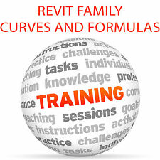REVIT Family Curves and Formulas - Video Training Tutorial DVD