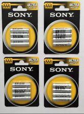 Genuine Sony Heavy Duty Batterie AAA x 16 PZ Confezione da 4 UK STOCK