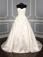NEW Pronovias Primura Lace Sweetheart Strapless Ball gown Wedding Dress 10 $2.2K