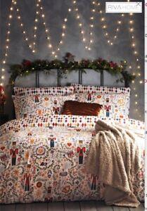 FURN Christmas Nutcracker Duvet Bed Set KINGSIZE New