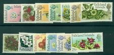 FALKLAND ISLANDS #210-22 Complete set, flower type  with 'p' instead of 'd', NH