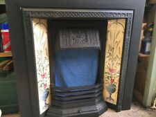 Stovax Victorian Tiled  Fireplace & Surround - Mint Condition (Includes Mantle)