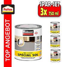 3x Henkel Rubson 0,75L GRAU Bodenbeschichtung Epoxid Bodenbelag Farbe Betonfarbe