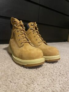 """New Timberland PRO TB0A121H Resistor 6"""" Waterproof Comp Toe Work Boots 10 Wide"""