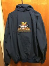 Miller Brewing Company Milwaukee 3Xl Unitog Beer Delivery Windbreaker Jacket