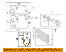 KIA OEM 11-12 Optima Air Conditioner-Discharge Hose 977623Q000