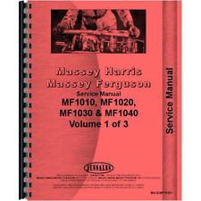 New Massey Ferguson 1010 Tractor Service Manual