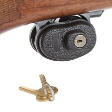 Allen Safety Trigger Gun Lock With 2 Keys Black Shotgun Rifle Handgun NEW