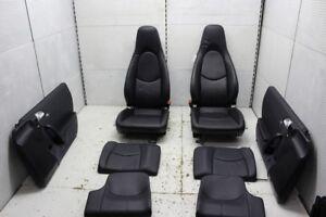 Porsche 911 997 Carrera Ledersitze Leder Sitz Sitze Rücksitze Lederausstattung