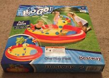 NEW Bestway H2O GO! Inflatable Swimming Water Play Center One Play Pool Ages 2+