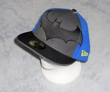New Era 59Fifty Batman Superhero DC Comics Fitted Hat Cap Size Mens Large 7 3/4