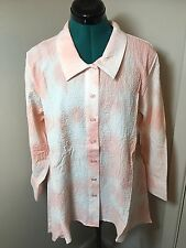 Habitat River Wash Blush Shirt.NWT .Size XL.