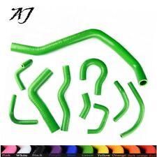 Green For Honda CIVIC/CRX EE EF/CR-X Base/DX/HF/Si 88-91 Silicone Radiator Hose