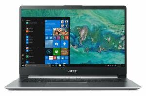 "Acer Swift 1 SF114-32 14"" Laptop Pentium N5000 4GB 256GB Silver NX.GXUEK.004"