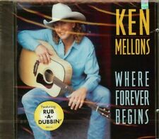 KEN MELLONS - WHERE FOREVER BEGINS - CD - NEW