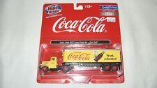 Mini Metals/Cmw Ho White Wc22 Tractor/Trailer Set Coca Cola Item# 31188