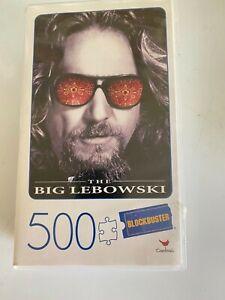 VHS CASE Blockbuster Cardinal The Big Lebowski 500 Piece Puzzle NEW