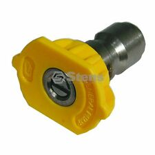 "1/4"" Quick Coupler Nozzle FITS 15 Degree Size 4.5 Yellow General Pump 915045Q"
