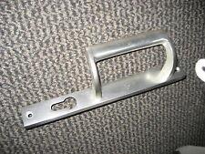 1 x schmal  Beschlag Griff . Für Tore oder Rahmentüren PZ RE + LI drehbar ALU