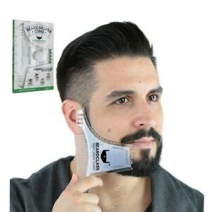 Beard Shaping Styling Template Beard Comb for Men Shaving Hair Beard Mustache