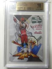 2016-17 James Harden Panini Studio From Downtown #FD2 Rockets SP Pristine BGS 10