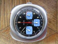 MDG Vintage St. Steel IAXA Waterproof Chronograph. Cal. Valjoux 7736.