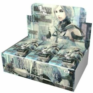 Final Fantasy TCG Opus XII/12 Crystal Awakening Booster Box (Sealed) Feat. Ashe
