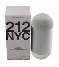 212 Carolina Herrera  3.4 oz/100 ml Tester Edt Spray For Women