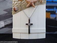 Kreuz Echtschmuck-Halsketten aus Edelstahl