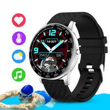 Bluetooth Sport Smart Watch Heart Rate Blood Pressure Monitor Fitness Tracker