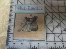 New NIP Holly Pond Hill Bride Groom Wedding Love Looks w/ Heart rubber stamp