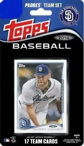 San Diego Padres 2014 Topps Factory Team Set Chase Headley  Yonder Alonso PLUS
