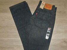Levis 514 Straight Fit Jeans Regular Fit Through Thigh Midrise Dirt Rush Blue