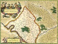 Reproduction carte ancienne - Pays Vexin XVIIè
