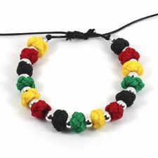 Rasta Cool Bracelet Wrist Band Hippie Hawaii Negril Dub Ras Reggae Marley RGY