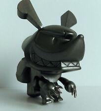 Kidrobot Touma Little Trickers Gun Metal Limited Edition - SQUEEZEL SMILING