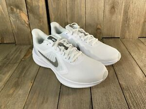NIKE wmns downshifter white/silver running shoes CI9986-100 WIDE SIZES 11W