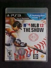 Mlb 12 the Show!! SONY PS3!